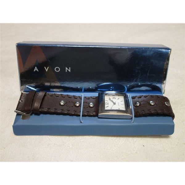 Avon Whipstitch Watch in Box