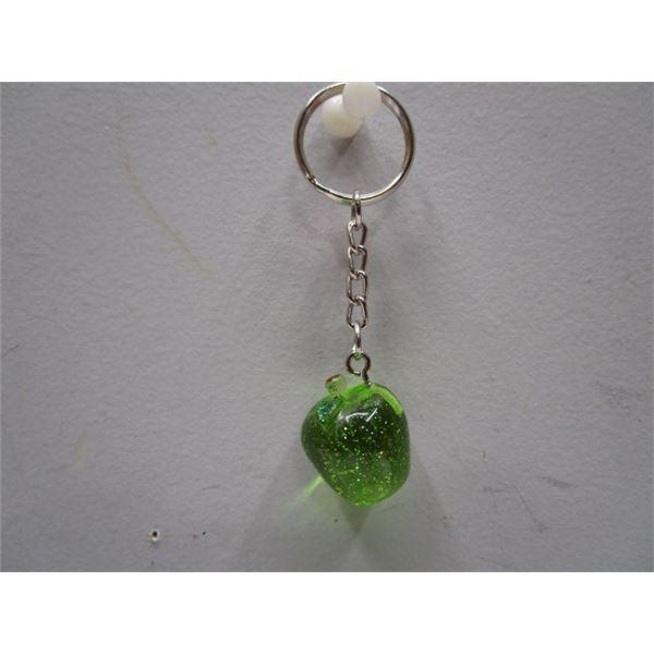 Green Apple Key Chain
