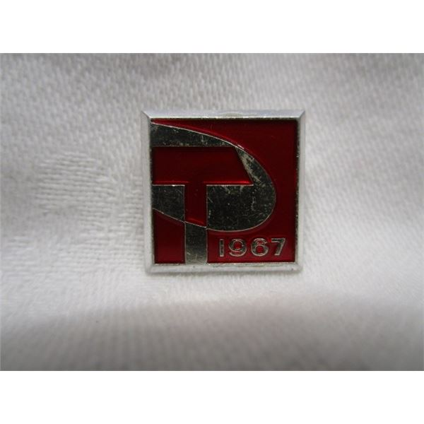 1967 Centennial Canada Lapel Pin