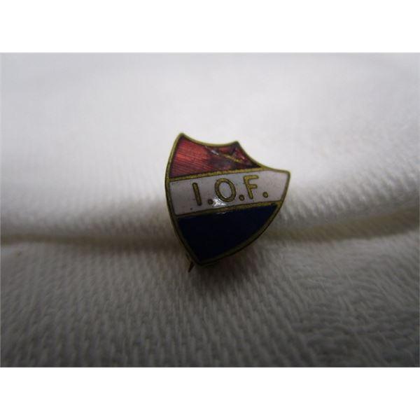 Vintage Enamel I.O.F. Lapel Pin