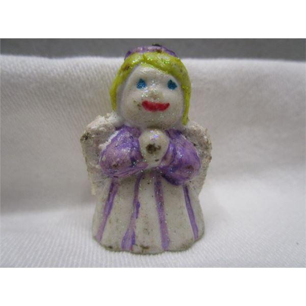 Antique Porcelain Hanging Angel