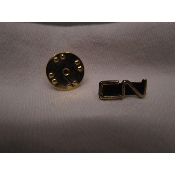 CN Lapel Tie Tack Pin