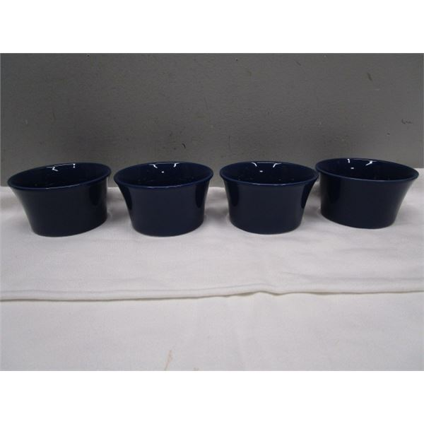 Cobalt Blue Small Dishes Set of 4