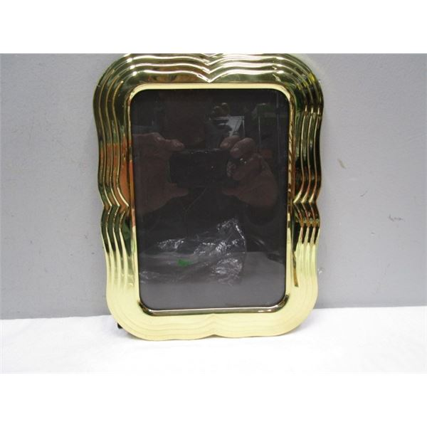 """Brass Picture Frame for 4.5"""" x 6.5"""" Picture"""