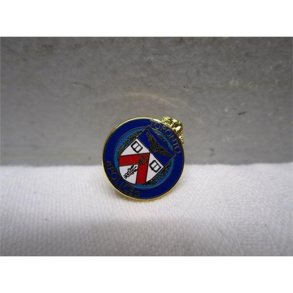 Enamel Toronto Police Lapel Pin