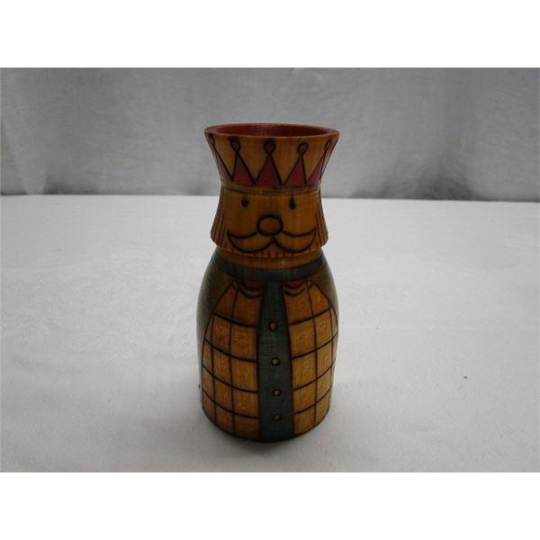 Unique Wooden Vase