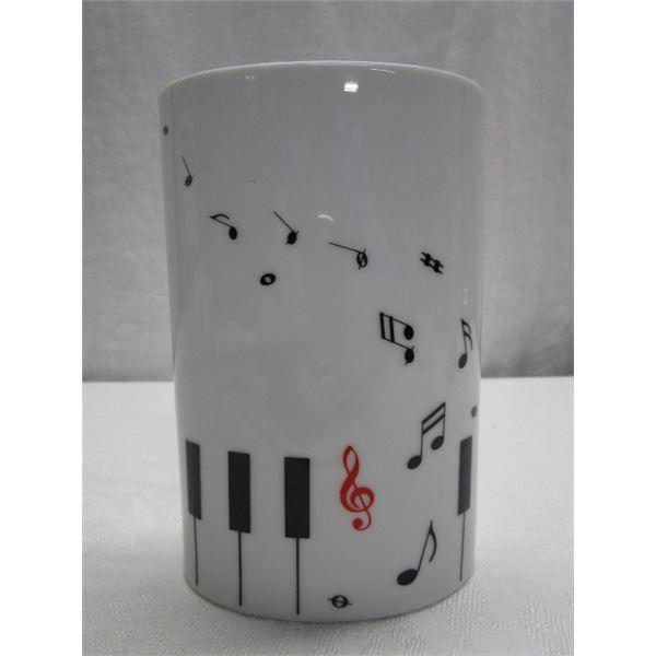 Music Design Vase Made in Japan