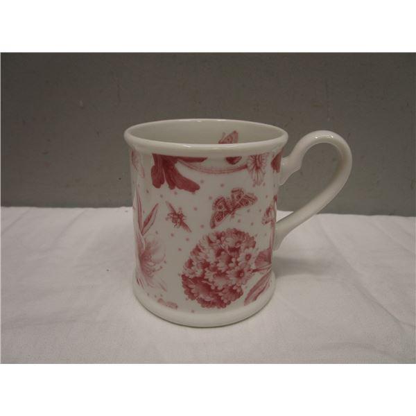 Portmeirion Mug in Botanic Pink Pattern