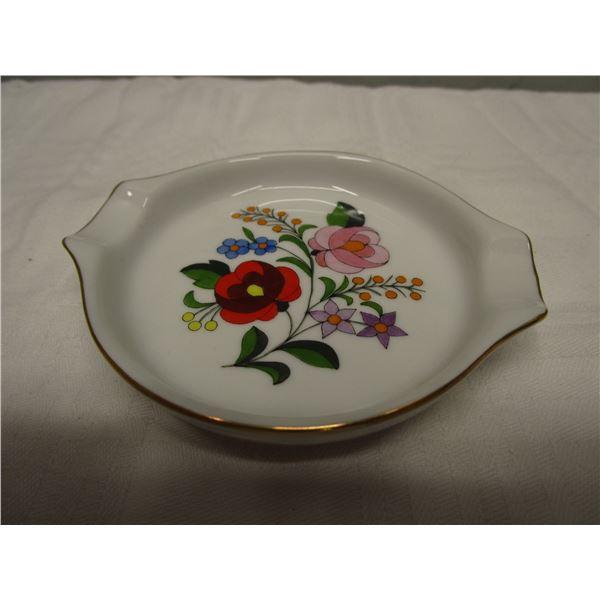"Kalocsa Handpainted Decorative 4"" Plate"