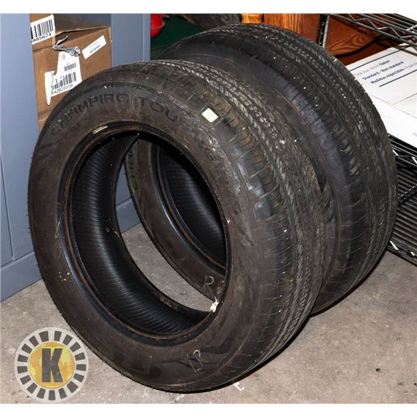SET OF TWO MATCHING CHAMPIRO TOURING A/S TIRES