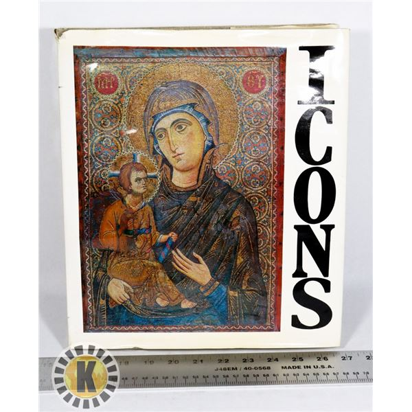 ICONS HARDCOVER ART BOOK