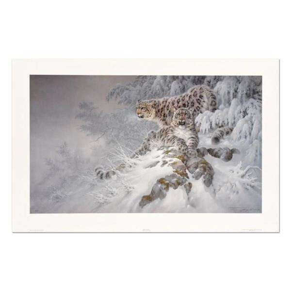 Larry Fanning (1938-2014),  Himalayan Royalty  Limited Edition Lithograph, Numbered and Hand Signed
