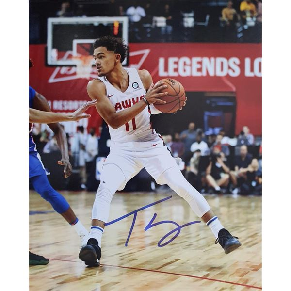 Autographed Print  Trae Young