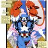 """Image 2 : Marvel Comics, """"Captain America, Sentinel: Uncanny X-Men #268"""" Numbered Limited Edition Canvas by Ji"""