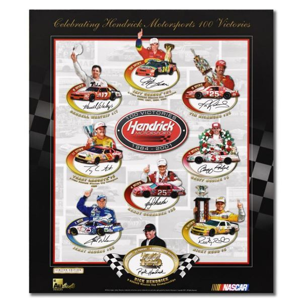 Celebrating 100 Victories  Limited Edition Collectible Poster with Letter of Authenticity.
