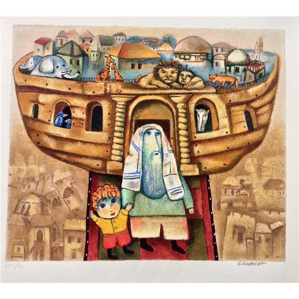 "Gregory Kohelet- Original Serigraph ""Noah's Ark """