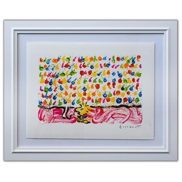"Tom Everhart- Hand Pulled Original Lithograph ""Tweet Tweet"""
