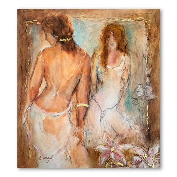 """Batia Magal, """"Femininity"""" Hand Signed Limited Edition Serigraph on Paper with Letter of Authenticity"""