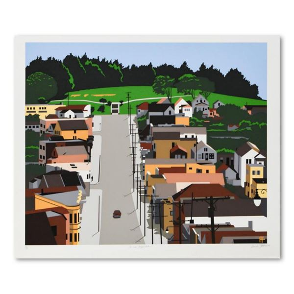 """Armond Fields (1930-2008), """"Old Neighborhood"""" Limited Edition Hand Pulled Original Serigraph, Number"""