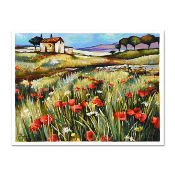 """Yuri Dupond, """"The Road Home"""" Limited Edition Serigraph, Numbered and Hand Signed with Certificate of"""