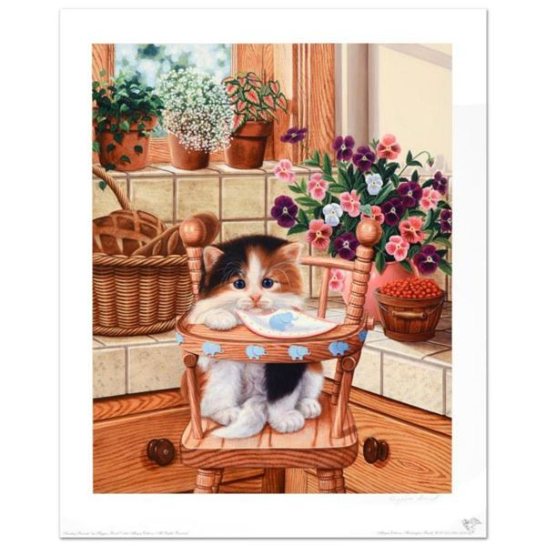"""""""Sunday Brunch"""" Limited Edition Lithograph by Barbara Higgins-Bond. Numbered and Hand Signed by the"""