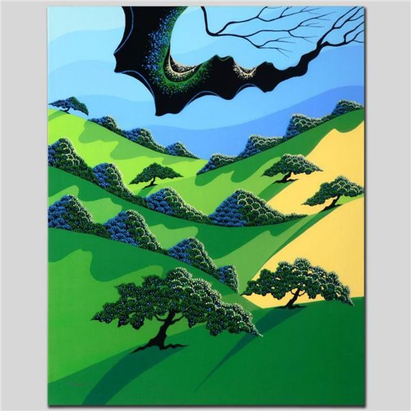 """""""Fields of My Father"""" Limited Edition Giclee on Canvas by Larissa Holt, Numbered and Signed. This pi"""