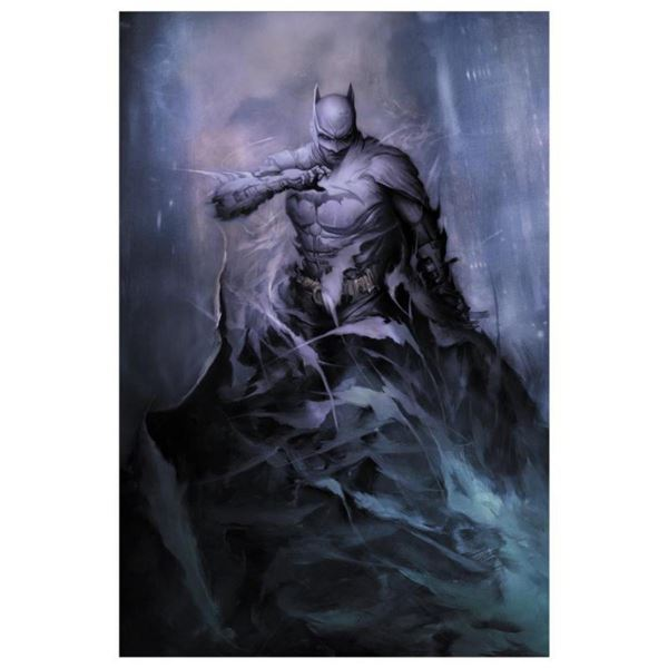 """DC Comics, """"Detective Comics # 1006"""" Numbered Limited Edition Giclee on Canvas by Dan Quintana with"""