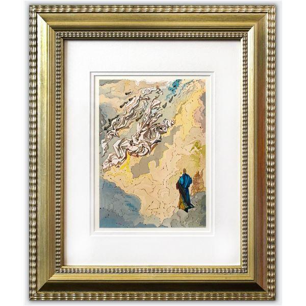 "Salvador Dali- Original Color Woodcut on B.F.K. Rives Paper ""paradise 20"""