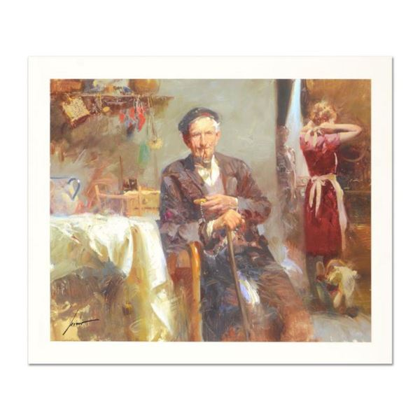 """Pino (1939-2010) """"Fleeting Moments"""" Limited Edition Giclee. Numbered and Hand Signed; Certificate of"""