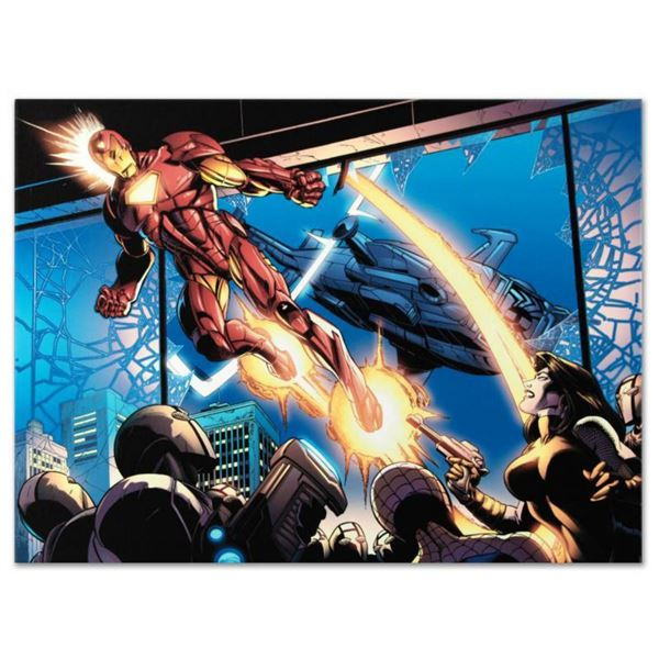 """Marvel Comics """"Ultimatum: Spider-Man Requiem #1"""" Numbered Limited Edition Giclee on Canvas by Mark B"""