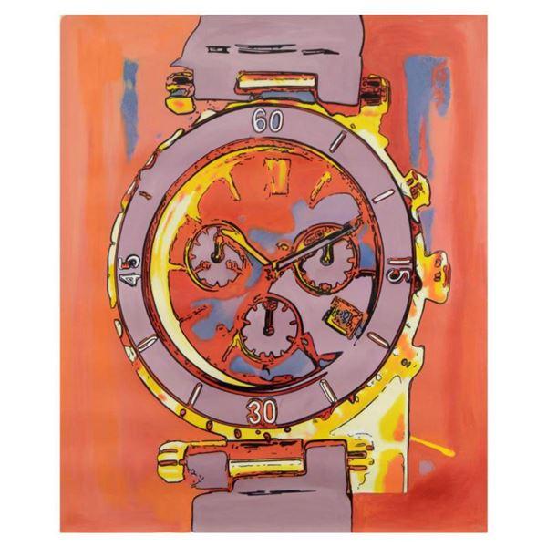 "Ringo Daniel Funes (Protege of Andy Warhol's Apprentice, Steve Kaufman), ""Luxury Watch for Her"" One-"