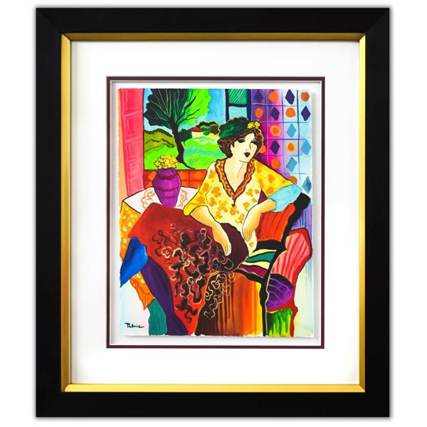 "Patricia Govezensky- Original Watercolor ""Antonia"""