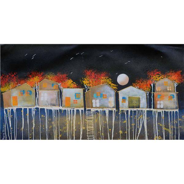 "Milkis- Acrylic on Canvas ""Untitled"""