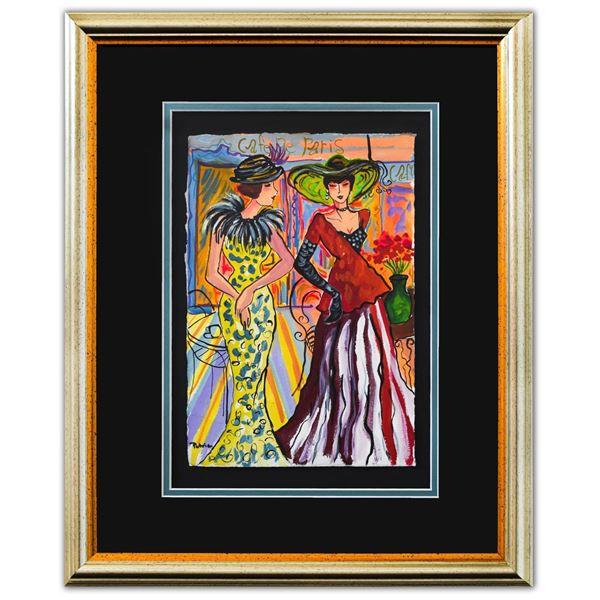 "Patricia Govezensky- Original Watercolor ""Karsten & Oberon"""