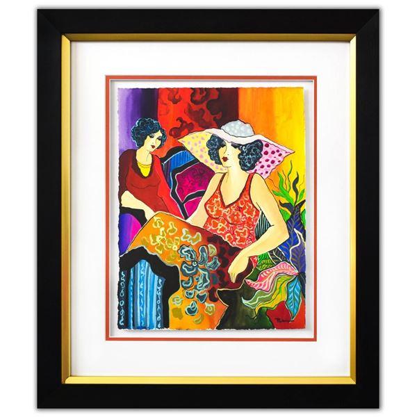 "Patricia Govezensky- Original Watercolor ""Adriana & Fernanda"""