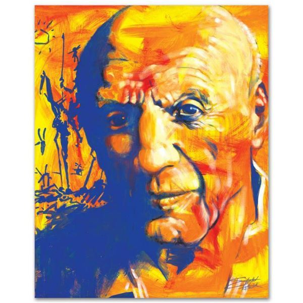 """""""Picasso"""" Limited Edition Giclee on Canvas by Stephen Fishwick, Numbered and Signed. This piece come"""