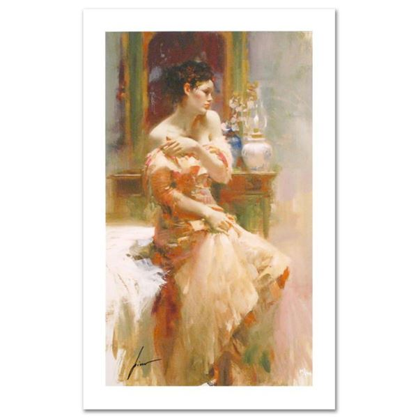 """Pino (1939-2010) """"Silk Taffeta"""" Limited Edition Giclee. Numbered and Hand Signed; Certificate of Aut"""