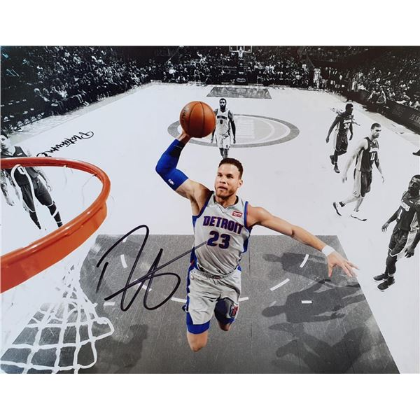 "Autographed Print ""Blake Griffin"""