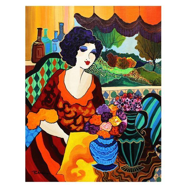 "Patricia Govezensky- Original Acrylic on Canvas ""Frida"""