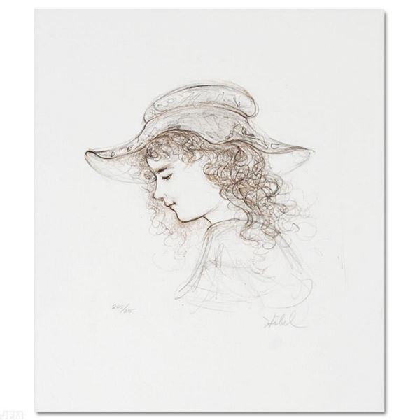 """Hibel (1917-2014), """"Elisabet"""" Limited Edition Lithograph, Numbered and Hand Signed with Certificate"""