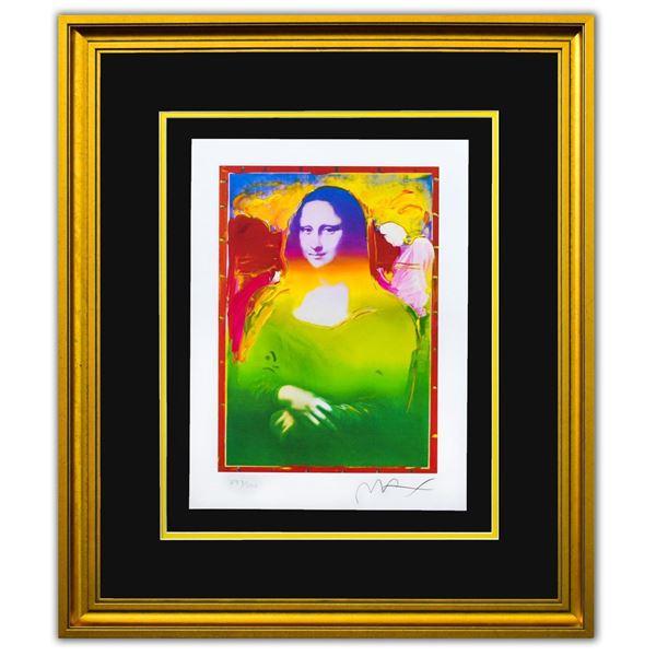 "Peter Max- Original Lithograph ""Mona Lisa II"""