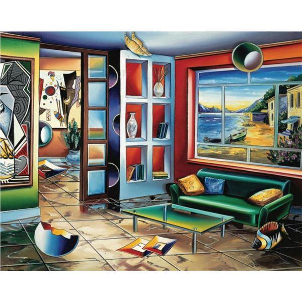 "Alexander Astahov- Original Giclee on Canvas ""Timeless"""