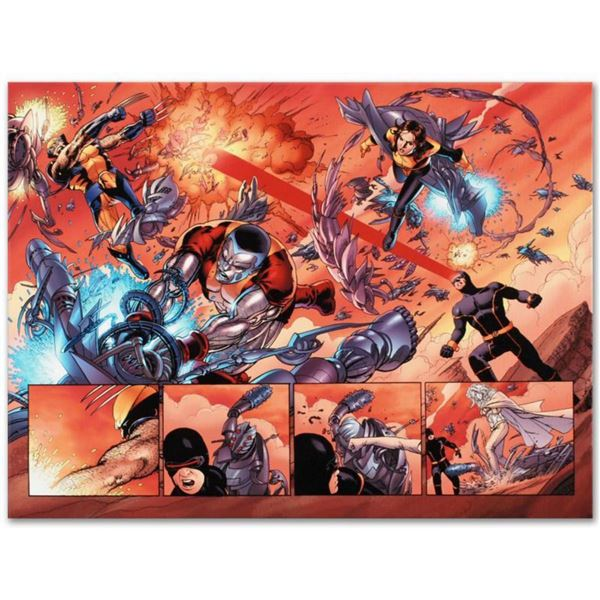 """Marvel Comics """"Astonishing X-Men N12"""" Numbered Limited Edition Giclee on Canvas by John Cassaday wit"""