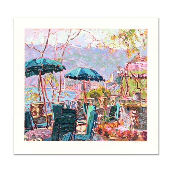 """Marco Sassone, """"Porta Roca"""" Limited Edition Serigraph, Numbered and Hand Signed with Letter of Authe"""