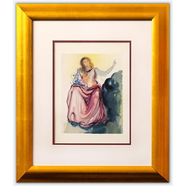 Salvador Dali- Original Color Woodcut on B.F.K. Rives Paper
