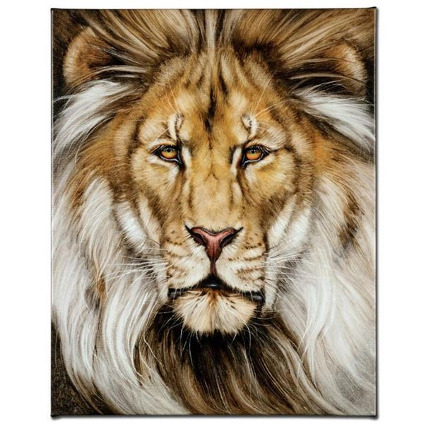 """""""Kinglike"""" Limited Edition Giclee on Canvas by Martin Katon, Numbered and Hand Signed. This piece co"""