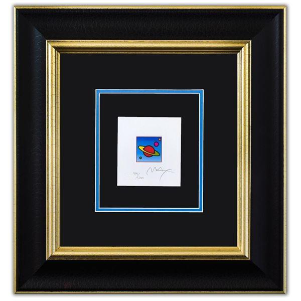 "Peter Max- Original Lithograph ""Cosmic Saturn II (Mini)"""