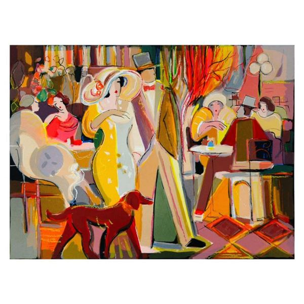"""Isaac Maimon, """"Romantic Evening"""" Limited Edition Serigraph, Numbered and Hand Signed with Letter of"""
