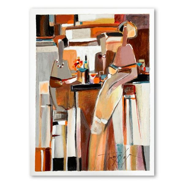 """Yuri Tremler, """"Untold Secret"""" Limited Edition Serigraph, Hand Signed with Letter of Authenticity."""