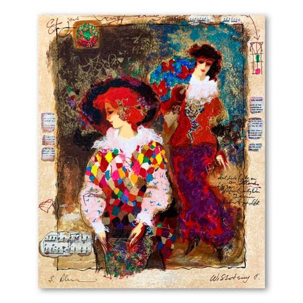 "Alexander Galtchansky (1959-2008) and Tanya Wissotzky (1959-2006), ""Memories of Venice"" Hand Signed"